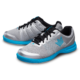 Pair of Silver and Sky Blue Fuze shoes facing left, for Fuze - Silver / Sky Blue (thumbnail 5)