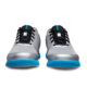 Toe view of the Silver and Sky Blue Fuze shoes, for Fuze - Silver / Sky Blue (thumbnail 3)