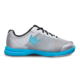 Side view of the Silver and Sky Blue Fuze shoe, for Fuze - Silver / Sky Blue (thumbnail 1)