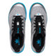 Top view of the Silver and Sky Blue Fuze shoes, for Fuze - Silver / Sky Blue (thumbnail 7)