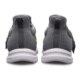 Heel view of the Grey and Yellow Slingshot shoes, for Slingshot - Grey / Yellow (thumbnail 4)