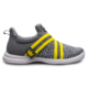 Side view of the Grey and Yellow Slingshot shoe, for Slingshot - Grey / Yellow (thumbnail 1)