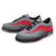 Pair of Grey and Red Rampage shoes facing left, for Rampage - Grey / Red (thumbnail 7)