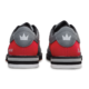 Heel view of the Grey and Red Rampage shoes, for Rampage - Grey / Red (thumbnail 5)