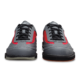 Toe view of the Grey and Red Rampage shoes, for Rampage - Grey / Red (thumbnail 4)