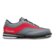 Side view of the Grey and Red Rampage shoe, for Rampage - Grey / Red (thumbnail 1)