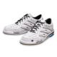 Pair of Men's White Team Brunswick shoes facing left, for Men's Team Brunswick - White (thumbnail 8)