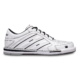 Side view of the Men's White Team Brunswick shoe, for Men's Team Brunswick - White (thumbnail 1)