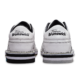 Heel view of the Men's White Team Brunswick shoes, for Men's Team Brunswick - White (thumbnail 6)