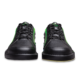 Toe view of the Black and Neon Green Punisher shoes, for Punisher - Black / Neon Green (thumbnail 4)