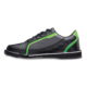 Inner side view of the Black and Neon Green Punisher shoe, for Punisher - Black / Neon Green (thumbnail 2)