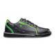 Side view of the Black and Neon Green Punisher shoe, for Punisher - Black / Neon Green (thumbnail 1)