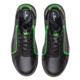 Top view of the Black and Neon Green Punisher shoes, for Punisher - Black / Neon Green (thumbnail 3)