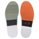 Right and Left soles of Grey and Red Rampage shoes, for Rampage - Grey / Red (thumbnail 8)