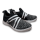 Pair of Black and White Slingshot shoes facing right, for Slingshot - Black / White (thumbnail 5)