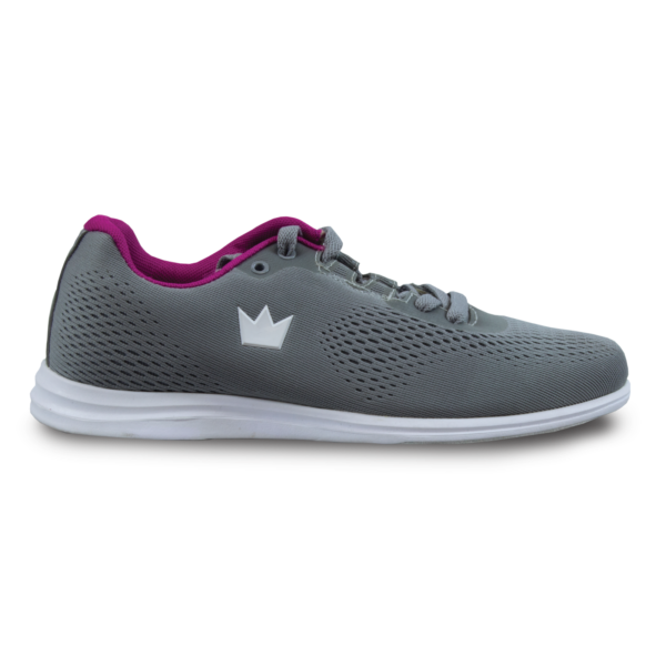 Side View of the AXIS Grey Pink Shoe