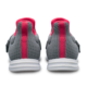Heel view of the Grey and Pink Versa shoes, for Versa - Grey / Pink (thumbnail 4)