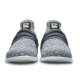 Toe view of the Grey and Pink Versa shoes, for Versa - Grey / Pink (thumbnail 3)