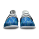 Toe view of the Blue and Silver Versa shoes, for Versa - Blue / Silver (thumbnail 3)