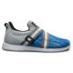 Side view of the Blue and Silver Versa shoe, for Versa - Blue / Silver (thumbnail 1)