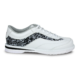 Side view of the White and Black Intrigue shoe, for Intrigue - White / Black (thumbnail 1)