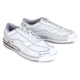 Pair of Women's White Team Brunswick shoes facing right, for Women's Team Brunswick - White (thumbnail 4)