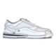 Side view of the Women's White Team Brunswick shoe, for Women's Team Brunswick - White (thumbnail 1)