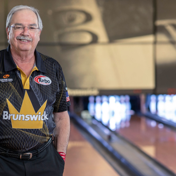 Legends of the Crown Pro Staffer Johnny Petraglia Portrait on the Lanes
