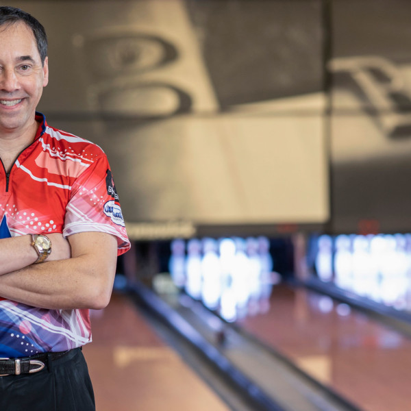 Legends of the Crown Pro Staffer Parker Bohn III Portrait on the Lanes