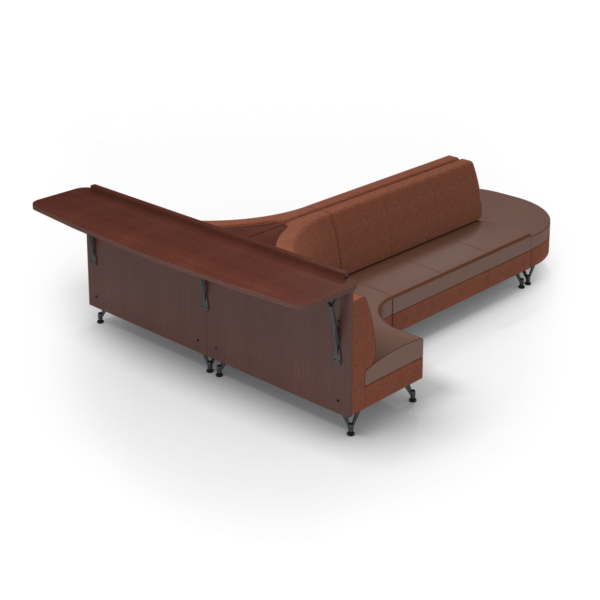 Center Stage Seating with Modwall. Synergy Tango British Tan