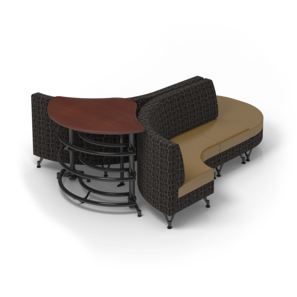 Center Stage Lounge with Ball Rack. Free Orbit & Camel