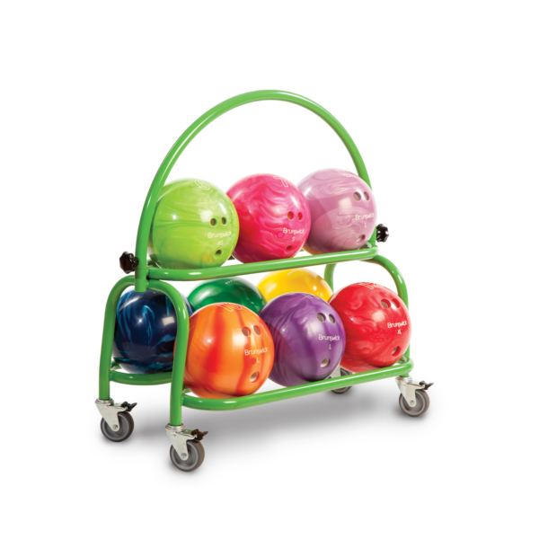2 Tier Ball Cart. Green