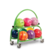 2 Tier Ball Cart. Green, for Ball Cart - 2 Tiered (thumbnail 1)