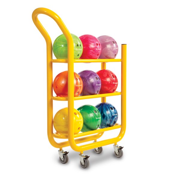 3 Tier Ball Cart. Yellow