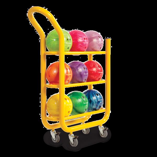3 Tier Ball Cart. Yellow