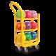 Ball Cart 3 Tier Yellow 1600X1600