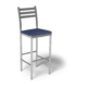 Cs Ladder Back Bar Stool Royal Silver 1220X1220