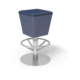 Cs Barstool Mia Royal Silver 1220X1220