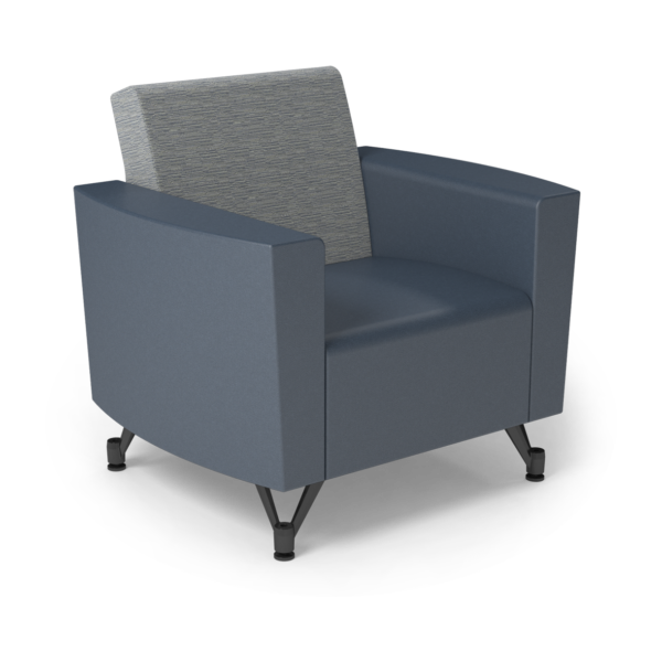 Center Stage Chair. Synergy Aegean & Blue Ridge Vinyl