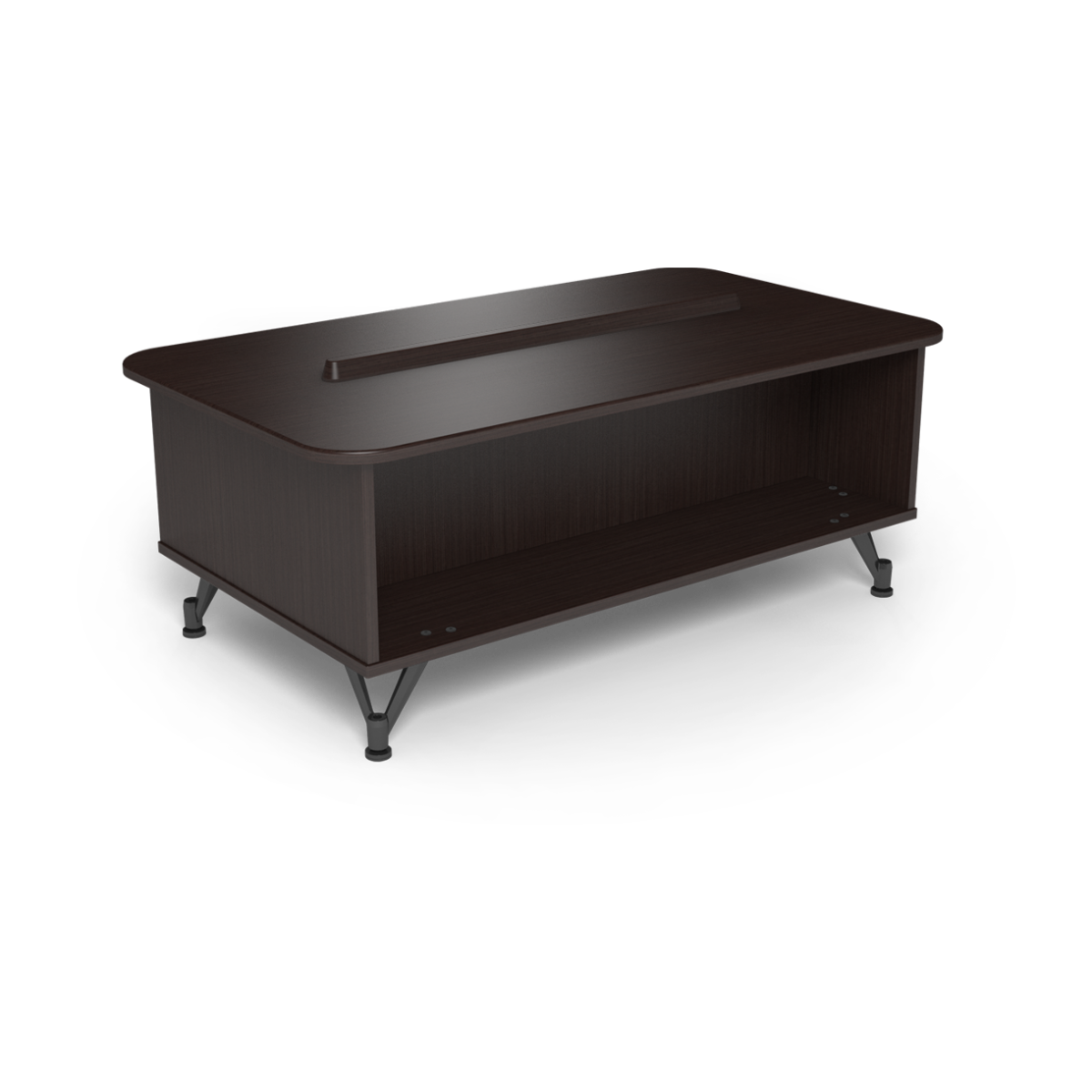 coffee tables with rounded corners brunswick bowling. Black Bedroom Furniture Sets. Home Design Ideas