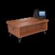 Cs 27 Inch Rounded Corner Coffee Table Oiledcherry Black 1220X1220