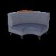 Cs Corner Unit Right Table Coverclothdelft Oiledcherry 1220X1220