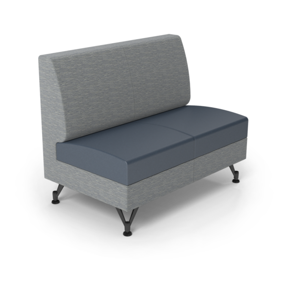 Center Stage Double Seat. Synergy Aegean & Blue Ridge Vinyl