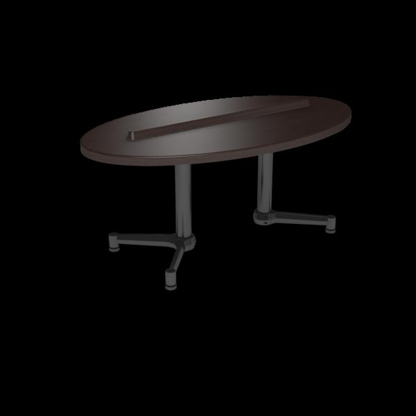 Cs 27X48 Coffee Table Ellipse Witchcraft Black 1220X1220