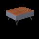 Center Stage Modular Table. Cover Cloth Delft & Royal Vinyl, for Modular Table (thumbnail 1)