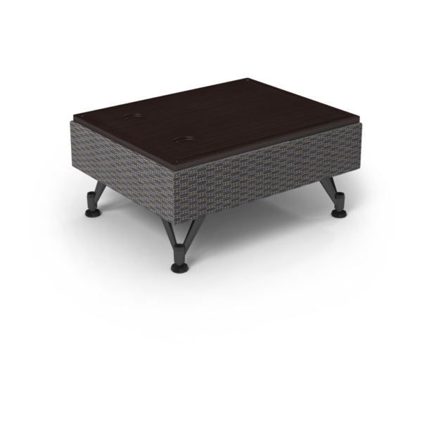Center Stage Modular Table. Focal Hudson & Witchcraft