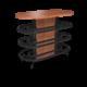Cs Modwall Eliptical Oiledcherry 1220X1220