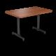 Cs 30X48 Table Th Rectangle Oiledcherry Black 1220X1220