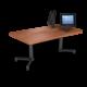 Cs 27X48 Coffee Table Rectangle Oiledcherry Black 1220X1220