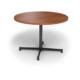 Center Stage, table height, round table. Oiled cherry & black weldment, for Round Table Height Table (thumbnail 1)